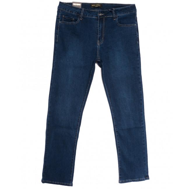 6698-1 Miss Cherry джинсы женские батальные синие осенние стрейчевые (30-40, 6 ед.) Miss Cherry: артикул 1112259
