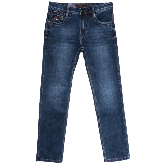 9540 Baron джинсы мужские полубатальные синие осенние стрейчевые (32-40, 8 ед.) Baron: артикул 1112544
