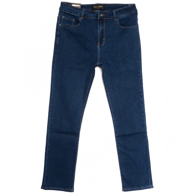 6697 Miss Cherry джинсы женские батальные синие осенние стрейчевые (30-36, 6 ед.) Miss Cherry: артикул 1112257