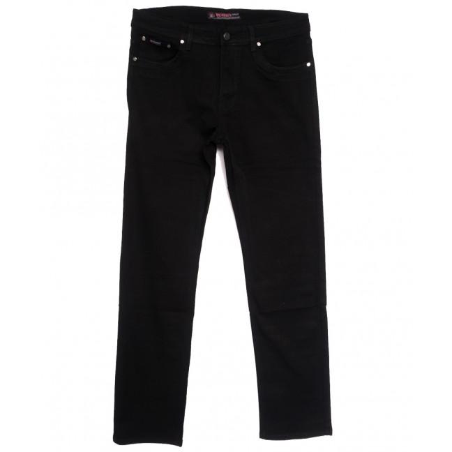 66041 Pr.Minos джинсы мужские полубатальные черные осенние стрейчевые (32-42, 8 ед.) Pr.Minos: артикул 1112460