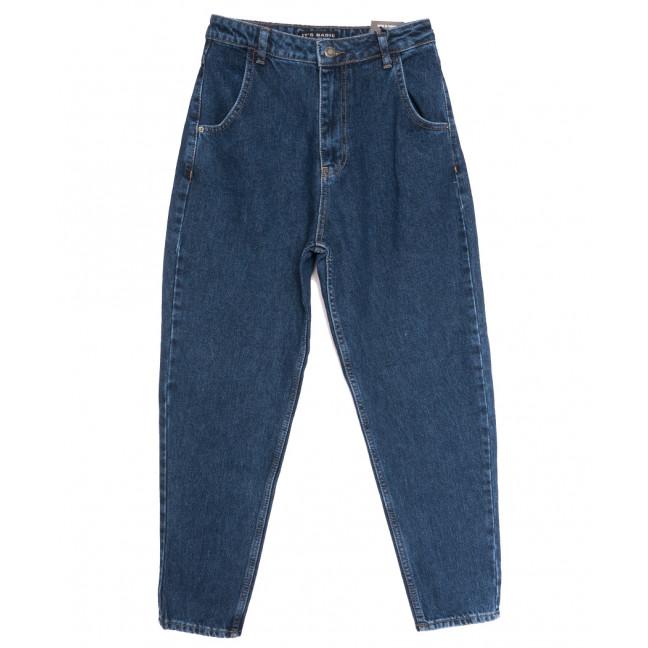 1666-1 Koyu Mavi Its Basic джинсы-баллон синие осенние коттоновые (34-42,евро, 6 ед.) Its Basic: артикул 1114312
