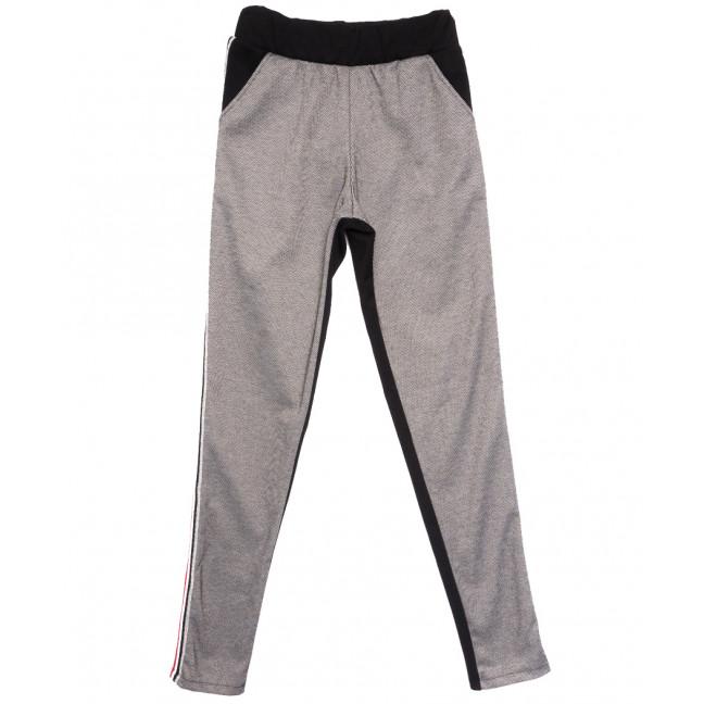 0218 серые брюки женские спортивные осенние стрейчевые (42-46,норма, 3 ед.) Exclusive: артикул 1114597