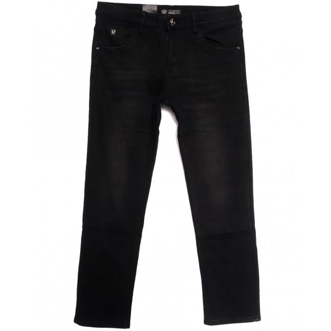 5115 Vitions джинсы мужские полубатальные на флисе черные зимние стрейчевые (32-38, 8 ед.) Vitions: артикул 1114820