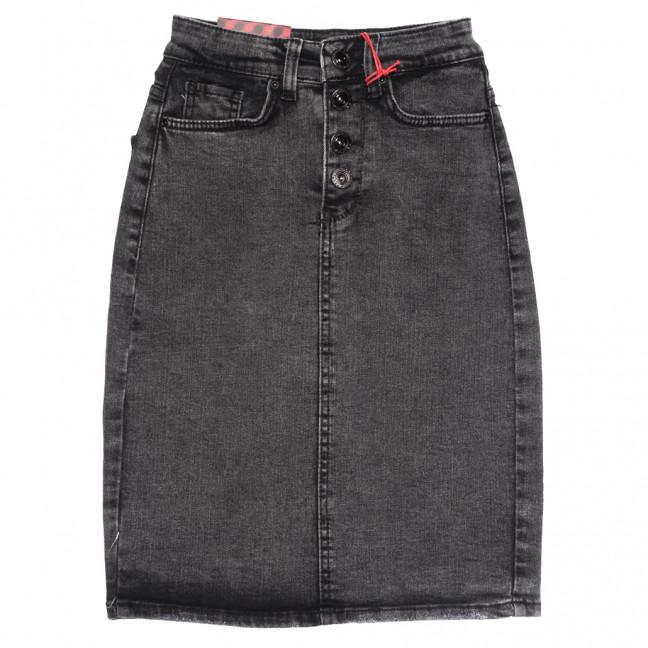 0822 серая Redmoon юбка джинсовая осенняя стрейчевая (25-30, 6 ед.) REDMOON: артикул 1114000