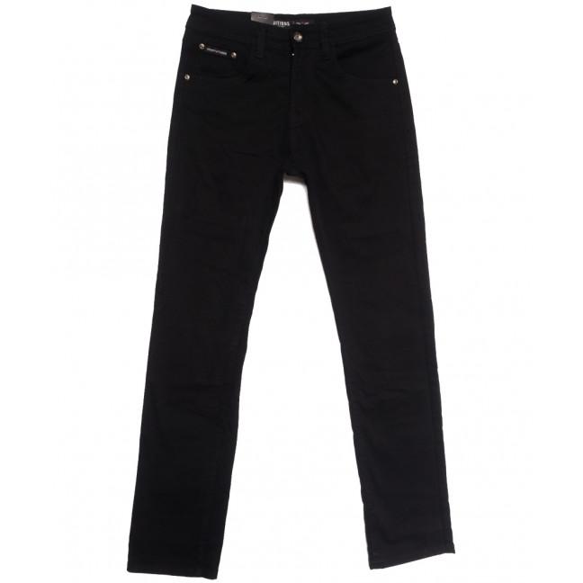 7046 Vitions джинсы мужские черные осенние стрейчевые (30-40, 8 ед.) Vitions: артикул 1113600