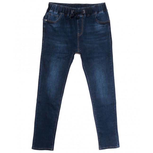 1641 Lady N джинсы женские на резинке батальные синие осенние стрейчевые (31-38, 6 ед.) Lady N: артикул 1114175