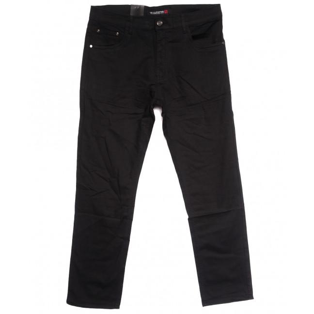 8818 (8819ТD) LS джинсы мужские батальные черные осенние стрейчевые (38-48, 6 ед.) LS: артикул 1114247