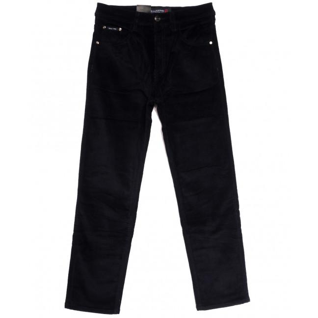 89025 LS джинсы мужские на флисе черные зимние стрейчевые (30-40, 8 ед.) LS: артикул 1114824