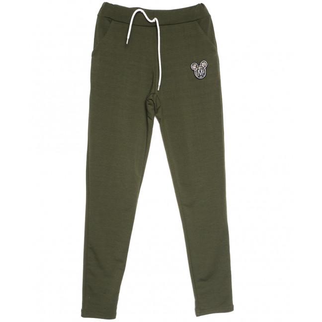 0207 хаки Exclusive брюки женские спортивные осенние стрейчевые (42-48,норма, 4 ед.) Exclusive: артикул 1114604