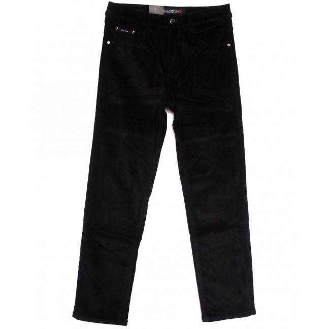 89024 LS джинсы мужские на флисе черные зимние стрейчевые (30-40, 8 ед.) LS: артикул 1114581