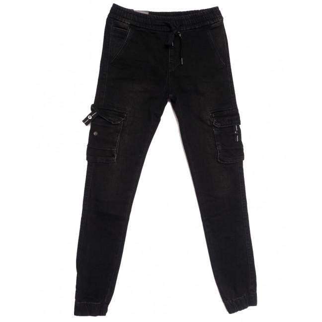 5082 (5082АТ) Vitions джинсы на резинке на мальчика темно-серые осенние стрейчевые (24-30, 7 ед.) Vitions: артикул 1113605
