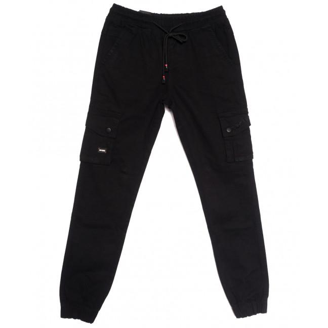 7030 (7030АТ) Vitions джинсы на резинке на мальчика черные осенние стрейчевые (24-30, 7 ед.) Vitions: артикул 1113611