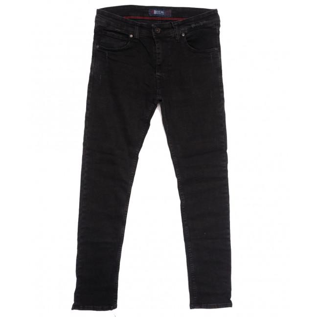 7154 Blue Nil джинсы мужские с царапками темно-серые осенние стрейчевые (29-36, 8 ед.) Blue Nil: артикул 1113738