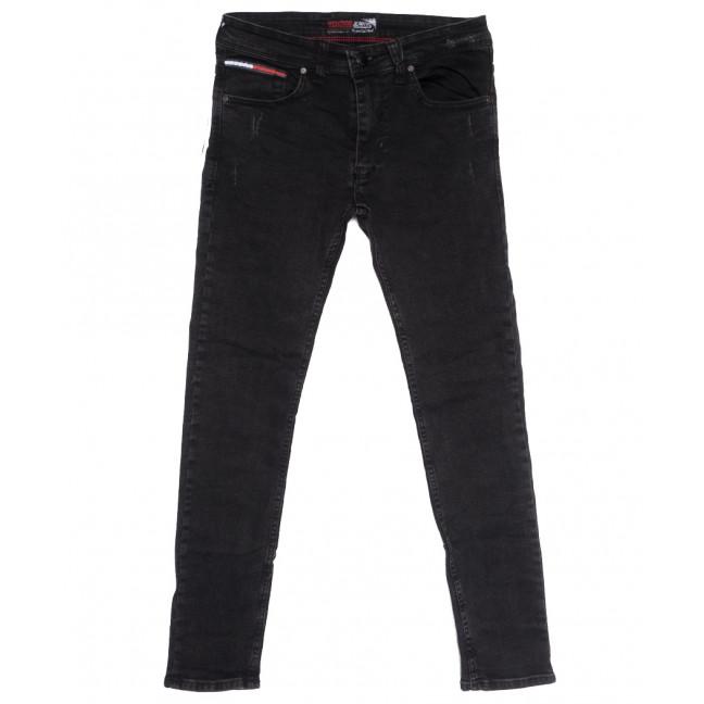 7198 Redcode джинсы мужские c царапками темно-серые осенние стрейчевые (29-36, 8 ед.) Redcode: артикул 1114037