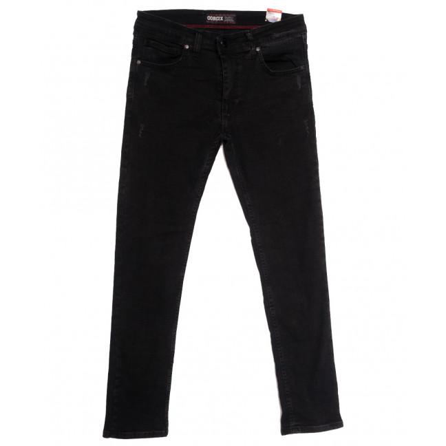 7201 Corcix джинсы мужские с царапками темно-серые осенние стрейчевые (29-36, 8 ед.) Corcix: артикул 1113422