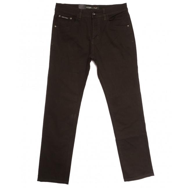 7048 Vitions джинсы мужские коричневые осенние стрейчевые (30-40, 8 ед.) Vitions: артикул 1113625