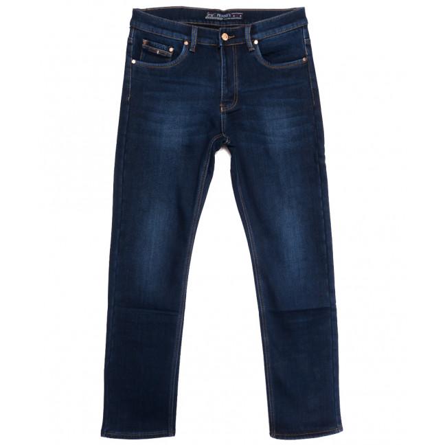 66048 Pr.Minos джинсы мужские полубатальные на флисе синие зимние стрейчевые (32-38, 8 ед.) Pr.Minos: артикул 1114138