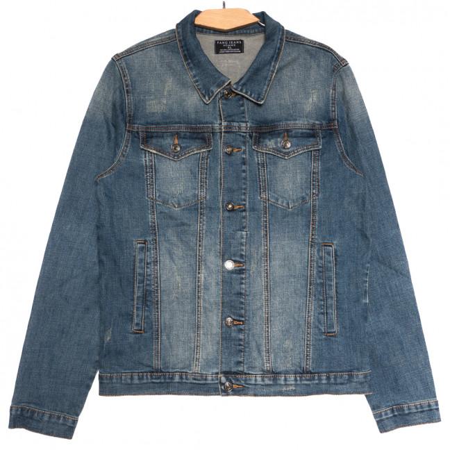1003 Fang куртка мужская с царапками синяя осенняя стрейчевая (М-3XL, 5 ед.) Fang: артикул 1114410