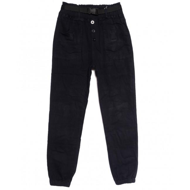 0714 (714L) темно-синие Forest Jeans джоггеры женские осенние стрейчевые (25-30, 6 ед.) Forest Jeans: артикул 1113243