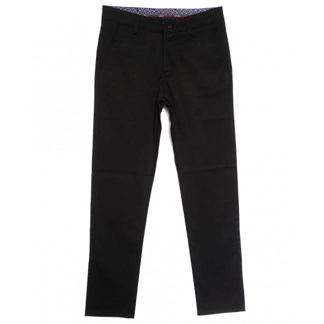 0905 черные Dawsin брюки мужские осенние стрейчевые (31-42, 8 ед.) Dawsin: артикул 1114905
