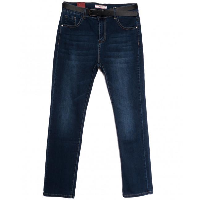 6706 M.Sara джинсы женские батальные синие осенние стрейчевые (30-36, 6 ед.) M.Sara: артикул 1113536