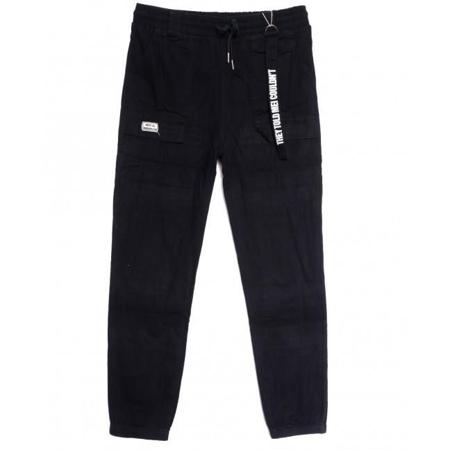 0710 (710L) темно-синие Forest Jeans джоггеры женские полубатальные осенние стрейчевые (28-33, 6 ед.) Forest Jeans: артикул 1113232