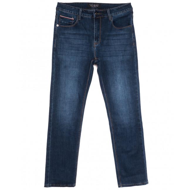 1068 Mark Walker джинсы мужские полубатальные синие осенние стрейчевые (32-40, 8 ед.) Mark Walker: артикул 1113642