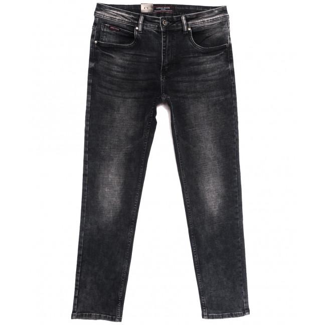 2160 Longli джинсы мужские полубатальные серые осенние стрейчевые (32-38, 8 ед.) Longli: артикул 1114668