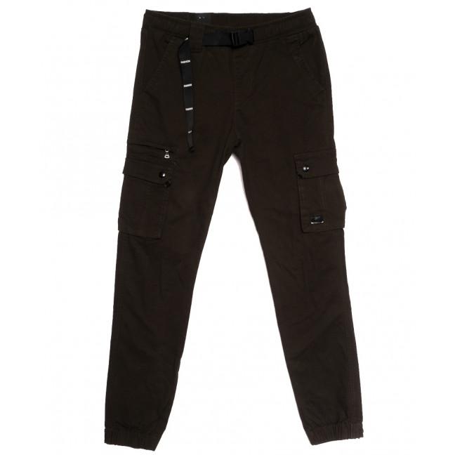 7044 (7044A) брюки карго мужские хаки осенние стрейчевые (30-40, 8 ед.) Vitions: артикул 1114255