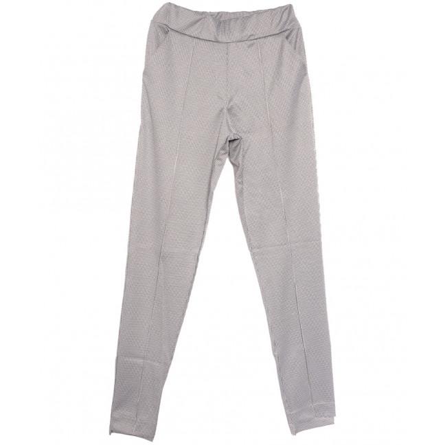 0017 черно-белые Exclusive брюки женские осенние стрейчевые (42-48,норма, 4 ед.) Exclusive: артикул 1114609