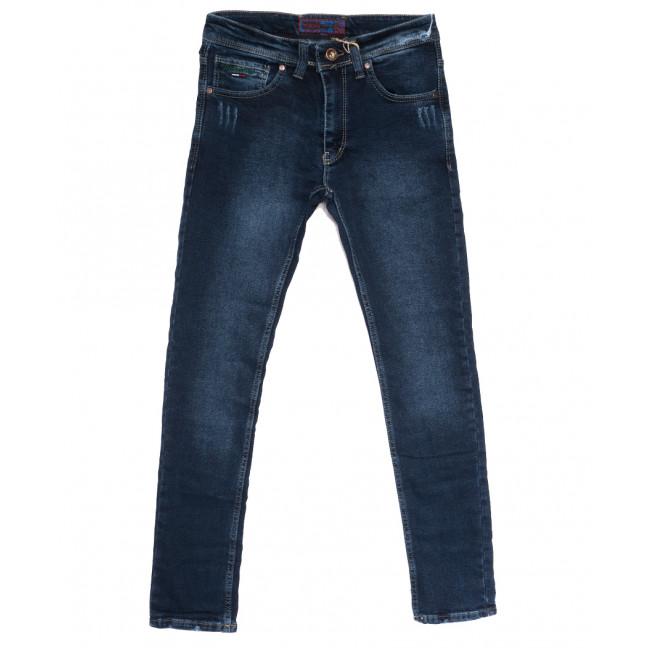 7230 Redcode джинсы мужские с царапками синие осенние стрейчевые (29-36, 8 ед.) Fashion Red: артикул 1114022
