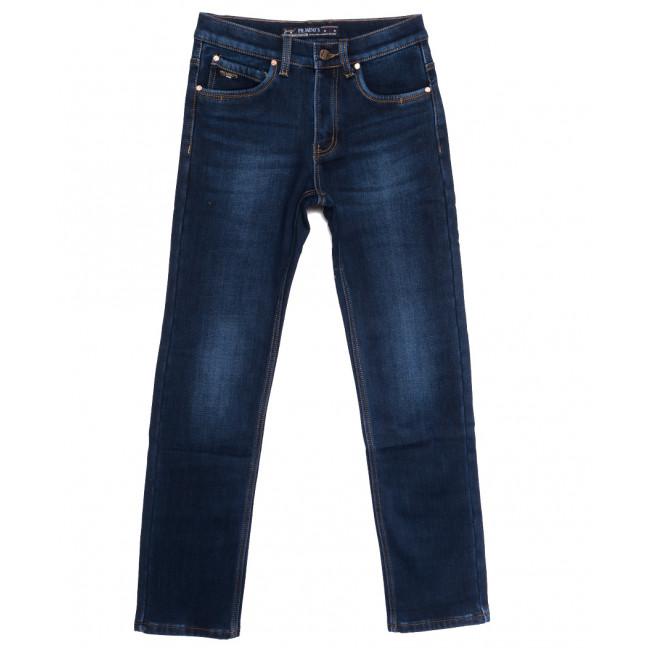 66046 Pr.Minos джинсы мужские на флисе синие зимние стрейчевые (29-38, 8 ед.) Pr.Minos: артикул 1114134