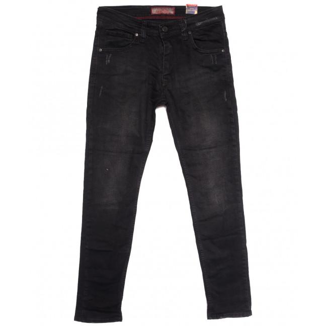 6936 Destry джинсы мужские полубатальные с царапками серые осенние стрейчевые (32-40, 8 ед.) Destry: артикул 1114034