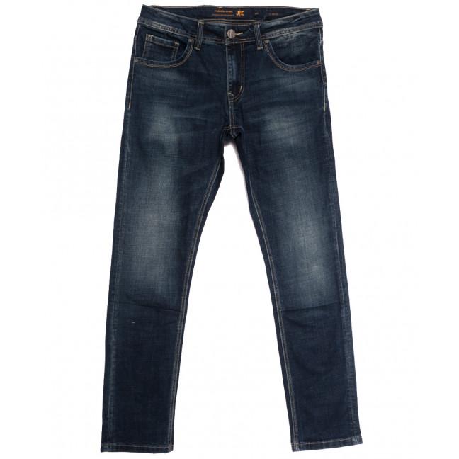 0018 JE джинсы мужские синие осенние стрейчевые (31-38, 8 ед.) JE: артикул 1113293