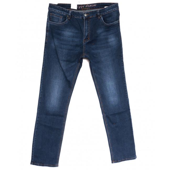 2622 Riggs джинсы мужские полубатальные синие осенние стрейчевые (32-42, 8 ед.) Rich Collection: артикул 1113571