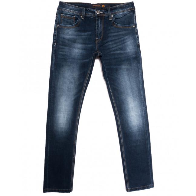 0022 JE джинсы мужские синие осенние стрейчевые (31-38, 8 ед.) JE: артикул 1113296
