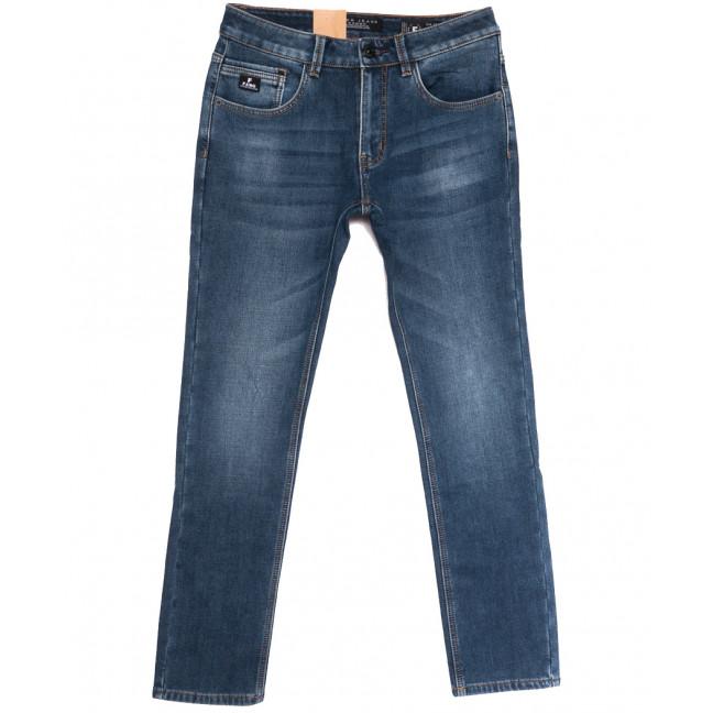 2310 Fang джинсы мужские на флисе синие зимние стрейчевые (30-38, 8 ед.) Fang: артикул 1114405
