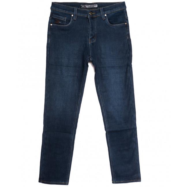1252 Bagrbo джинсы мужские на флисе синие зимние стрейчевые (29-38, 8 ед.) Bagrbo: артикул 1114891