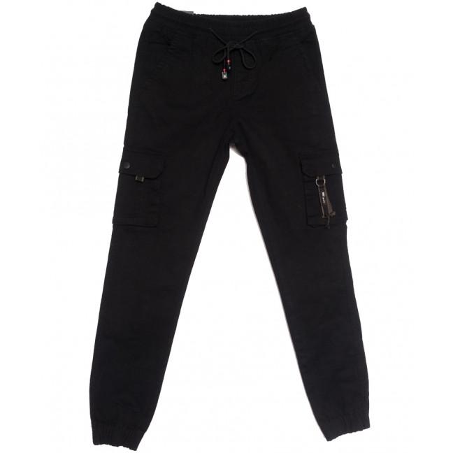 7031 (7031АТ) Vitions джинсы на резинке на мальчика черные осенние стрейчевые (24-30, 7 ед.) Vitions: артикул 1113610