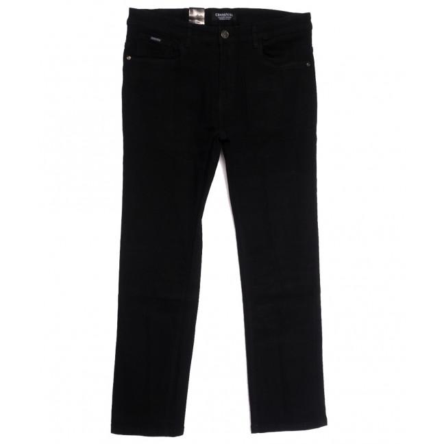3890 (CR3890D) Crossness джинсы мужские батальные черные осенние стрейчевые (34-44, 8 ед.) Crossness: артикул 1113217