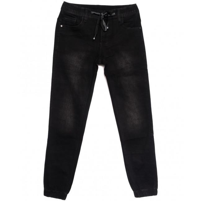 1529 Bagrbo джинсы мужские молодежные на резинке темно-серые осенние стрейчевые (28-36, 8 ед.) Bagrbo: артикул 1114566