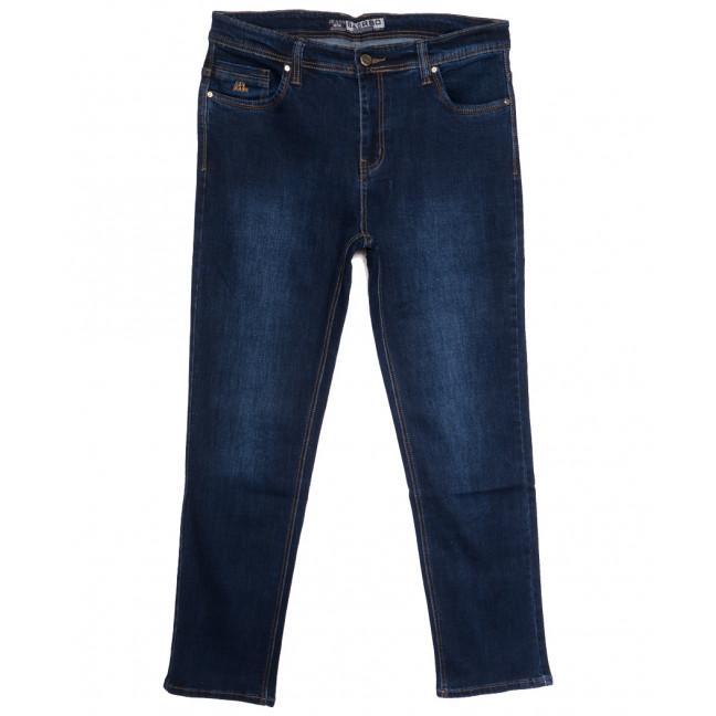8551 Bagrbo джинсы мужские полубатальные синие осенние стрейчевые (32-42, 8 ед.) Bagrbo: артикул 1114560