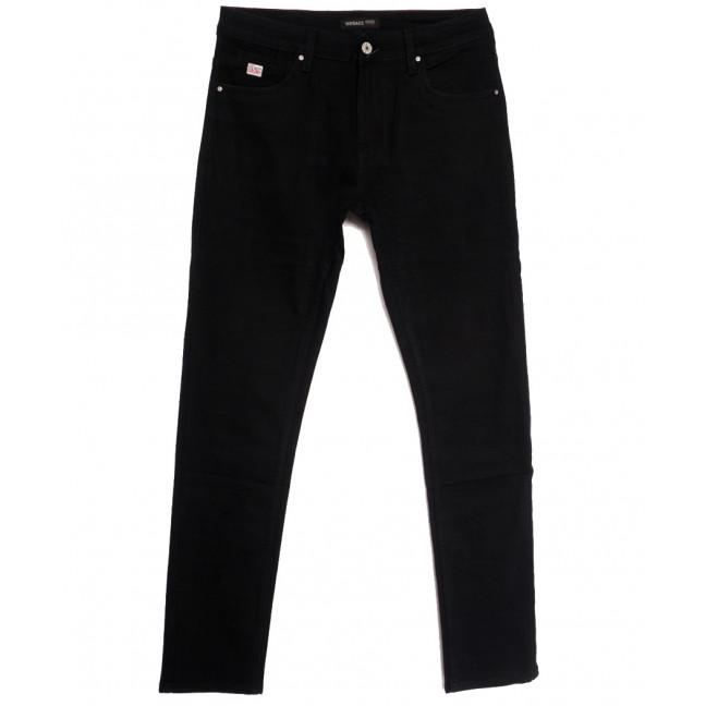 0921 Virsacc джинсы мужские черные осенние стрейчевые (29-36, 8 ед.) Virsacc: артикул 1113325