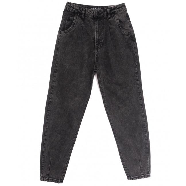 1724-4 Fume Its Basic джинсы-баллон серые осенние коттоновые (34-42,евро, 6 ед.) Its Basic: артикул 1114329