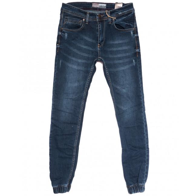 6213 Corcix джинсы мужские на резинке с царапками синие осенние стрейчевые (29-36, 8 ед.) Corcix: артикул 1114038