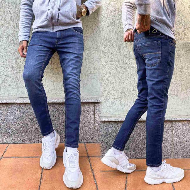4040-5 Big&Grays джинсы мужские синие осенние стрейчевые (34-40, 4 ед.) Big&Grays: артикул 1114338
