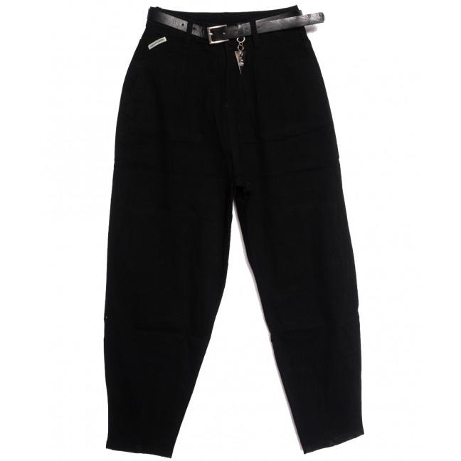 8003 Lanlan джинсы-баллон черные осенние стрейчевые (25-30, 6 ед.) LanLan: артикул 1113453