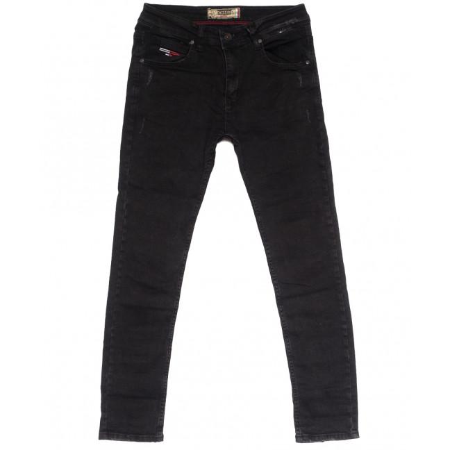 7165 Destry джинсы мужские с царапками серые осенние стрейчевые (29-36, 8 ед.) Destry: артикул 1113739