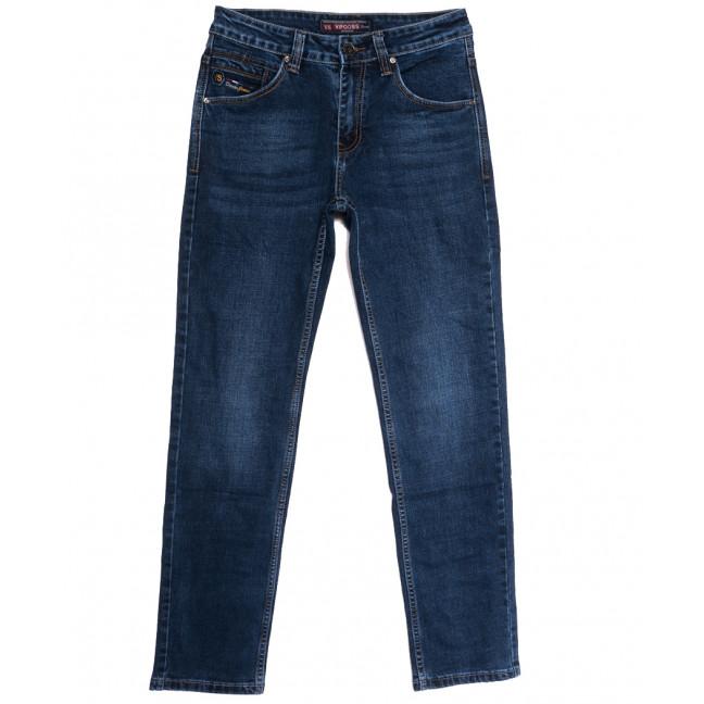 91089 Vifooss джинсы мужские синие осенние стрейчевые (30-38, 8 ед.) Vifooss: артикул 1113307