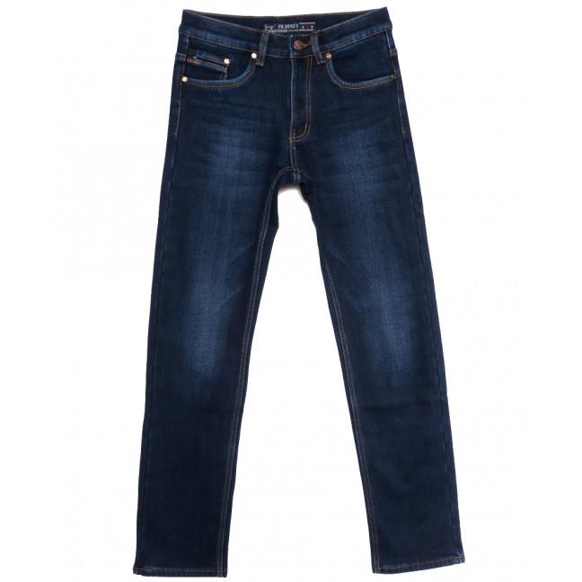 66043 Pr.Minos джинсы мужские на флисе синие зимние стрейчевые (29-38, 8 ед.) Pr.Minos: артикул 1114141